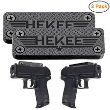 43Lbs Gun Magnet Holder Magnetic Mount Car Concealed Holster Magnets Rack 2-Pack
