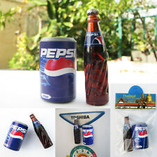 PEPSI Bottle + Can 3D Miniature fridge magnets Kitchen Souvenir PEPSI Thailand