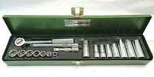 "VINTAGE S-K TOOLS 3/8"" DRIVE SHORT and LONG SOCKET SET"