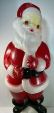 "Vintage Santa Claus Blow Mold Christmas Light Carolina Enterprises 1973 23"" Tall"