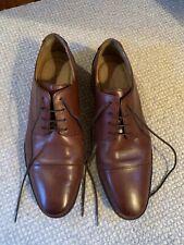 Florsheim Imperial Brown Leather Brogue Cap Toe Oxford Dress Shoes Mens Sz 11 D