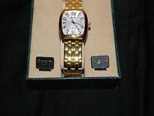 Waltham Mens Gold Calendar Watch
