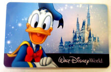 WALT DISNEY DONALD DUCK DISNEYLAND GIFT CARD COLLECTIBLE ---0--BALANCE
