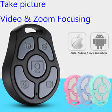 Photograph &Zoom &Video Recorder Selfie Wireless Bluetooth Remote Shutter Button