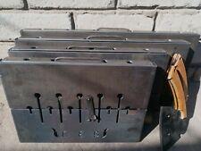 3mm! Portable BBQ Suitcase Barbeque Shashlik Kebab Mangal Grill fast supply!
