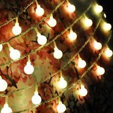 40 LED Light String Garden Wedding Party Christmas Outdoor Decoration Lamp Bulb