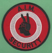AIM AMERICAN INDIAN MOVEMENT SECURITY PATCH