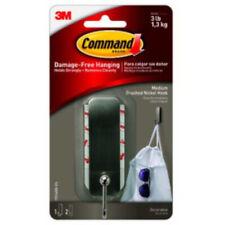 3M Command Medium Metal Hook 1 Pk