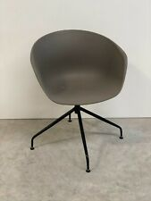 BRAND NEW CONTEMPORARY MINK GREY OFFICE HOME LOUNGE BUCKET CHAIR (968)