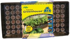 Seed Starter Kit Tray 72 Piece Peat Pellets Greenhouse Dome Plant Propagation