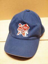 Adidas Official London Olympics 2012 Baseball Cap Adjustable Strap Blue Hat OSFM