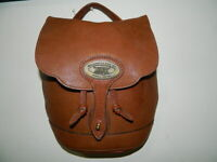 TORY LEATHER CO BENCH CRAFTED SINCE 1976 DRAWSTRING BAG MADE IN THE USA