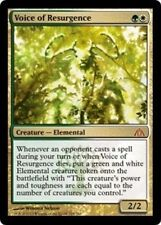 VOICE OF RESURGENCE Dragon's Maze MTG Gold Creature—Elemental MYTHIC RARE