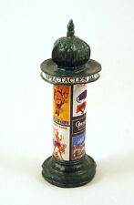 J CARLTON BY GAULT FRENCH MINIATURE NEWS STAND COLUMN PARIS ADVERTISING FIGURINE