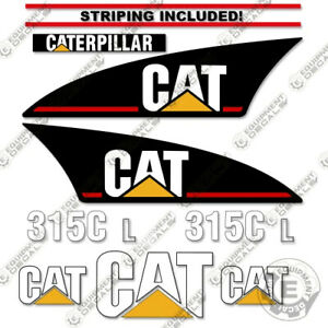 Caterpillar 315CL Decal Kit (315C L) Excavator Stickers - 7 YEAR VINYL!