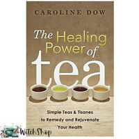 Book The HEALING POWER OF TEAS Tisanes Remedy Rejuvenate by Caroline Dow