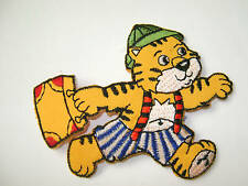 CHILDREN - ANIMAL / TIGER  EMBROIDERED IRON ON APPLIQUE PATCH