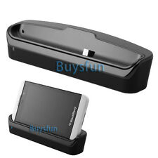 New Data Sync Charger Dock Stand Cradle For Blackberry Z10 BB 10 Charge w/ Case