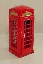 Telephone Booth Euro Style Miniature G Scale 1/32 Scale Diorama Accessory Item