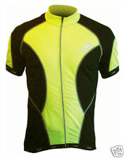 Lusso Coolite Cycling Jersey / Top - Yellow - Small