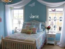 GIRL NAME Simple Wall Lettering Words Girls Vinyl Decal Sticker Cute Decor 24""