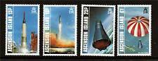 Ascension 1987 Manned Earth Orbit SG428/31 MNH