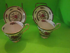 Paragon China TREE OF KASHMIR Set of 2 Footed Cup and Saucer