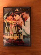 Y Tu Mama Tambien (Dvd, 2002, Unrated)