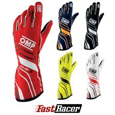 OMP ONE-S RACING GLOVES MY2020   FIA 8856-2018 Homologation