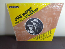 JOHN WAYNE Starring In STAGECOACH Radiola MR-1065 RADIO SHOW Orig Sealed
