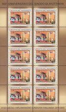 2014 350° anniversario del Sinodo di Ayutthaya - Vaticano - minifoglio