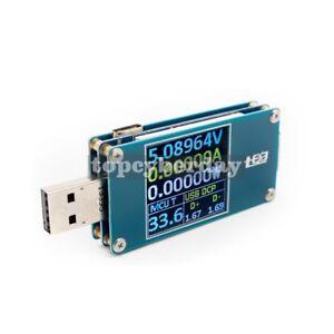 Type-C LCD Color Digital USB Tester Volt Ammeter QC 2.0/3.0 Quick Charge Test
