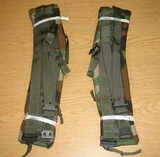 NEW CAMO ALICE BACK PACK SHOULDER STRAPS LC-2 USGI GENUINE ISSUE RUCK QUICK DROP