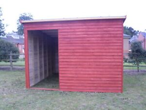 ECO-Field Shelter - Timber Field Shelter /Stable - Horse Stable - Wooden Shelter