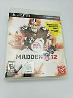 Madden NFL 12 (Sony PlayStation 3, 2011), PS3, Complete & Tested, Free Shipping