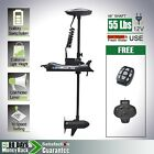 New 12V 55LBS Bow Mount Electric Trolling Motor Hand & Foot Control Haswing