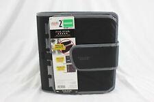 Five Star 3 Ring Zipper Binder X 593 Black Grey Brand New