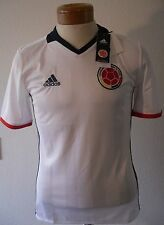 Nwt Adidas Fcf Columbia Youth 2016 Home Soccer Jersey L White Msrp$70