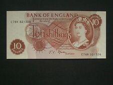 *****British  Crisp**  'C78N'  'AUNC' 10's 1967  fforde banknote****