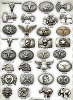 Belt Buckle YOUR CHOICE WESTERN Viking Thor Gothic Biker Country