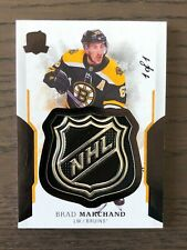 2017-18 The Cup Black Shield #7 Brad Marchand 1/1 1of1 Bruins