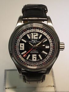 BALL Watch Trainmaster GMT Chronometer GM1050D New MSRP 2099