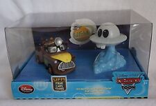 Disney Store Pixar Cars Toon UFM Unidentified Flying Mater Die Cast NEW Light Up