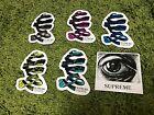 Supreme S/S 2017 M.C. Escher Eye and Ribbon Stickers Set