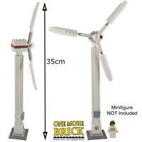 LEGO Wind Turbine - Custom Model - 35cm tall - all new parts - windmill