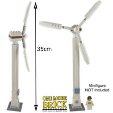 LEGO Wind Turbine - Custom Model - 35cm tall - all new parts - windmill