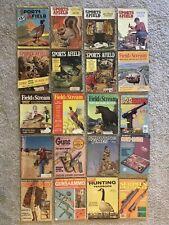 20+ Vintage Outdoor, Gun, Shooting Magazines, 1935-1999