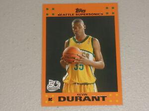 2007-08 Topps Rookie Set Orange #2 Kevin Durant RC