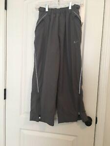 NIKE Boys Lined Athletic Pants Sz M 10-12 Gray