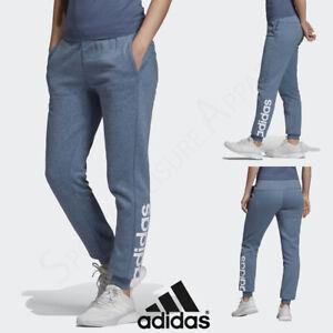 ADIDAS Womens Fleece Pants Ladies Gym Fitness Size 10 12 14 16 18 20 XS S M L XL